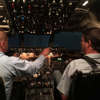 MD82 Simulator Experience