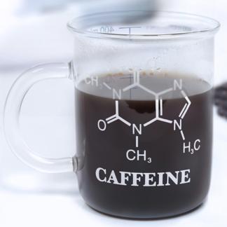 Caffeine Mug Novelty Gift