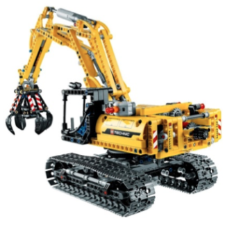 The Lego Builder Experience